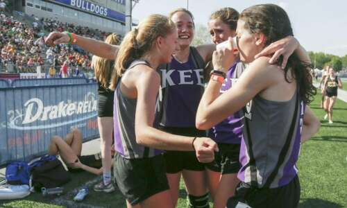 Iowa 1A state track and field: Lansing Kee makes school…