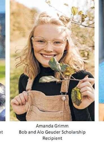 Cedar Rapids Follies Scholarship Recipients