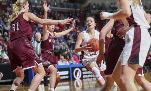 Photos: North Linn vs. Western Christian, Iowa Class 2A girls'…
