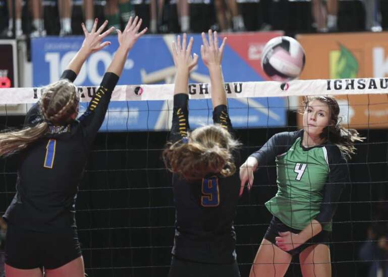 Osage sweeps, shoves its way to the 3A state volleyball semifinals