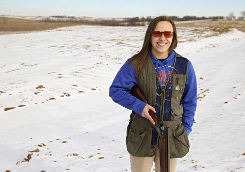 Eastern Iowa Girl Scout spearheads fundraising for Brooklyn trap range