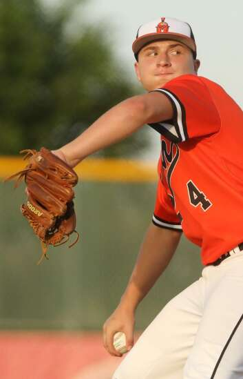 Cam Miller continues his role as ace for 3A No. 5 Solon baseball