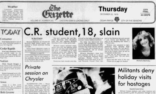Read the 1979 Michelle Martinko coverage from The Gazette's archive