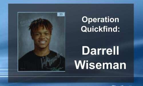 (Canceled) Operation Quickfind for Cedar Rapids teen