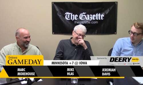 On Iowa Gameday: Iowa-Minnesota, Iowa State-TCU predictions
