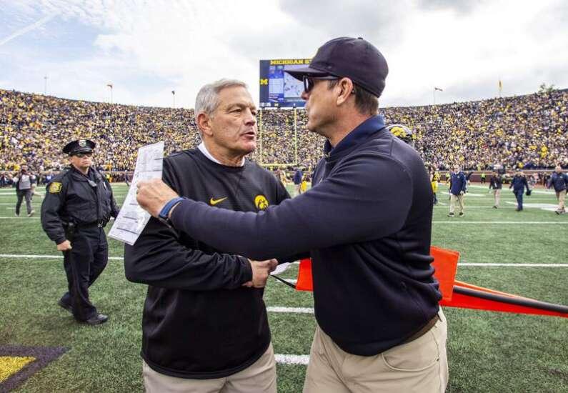 Iowa gets Michigan at home Saturday for Big Ten Champions Week