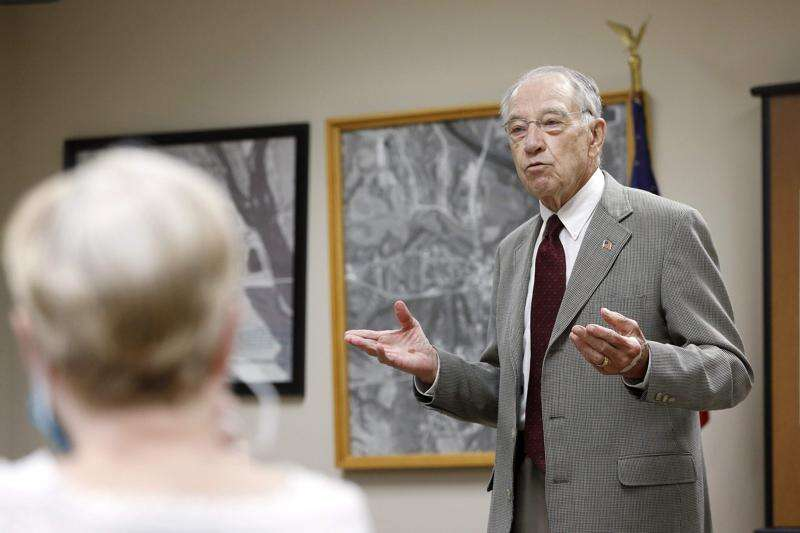Sen. Chuck Grassley proposes 50% hike in oil, gas royalties on federal lands