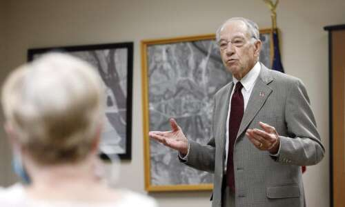 Sen. Chuck Grassley proposes 50% hike in oil, gas royalties…