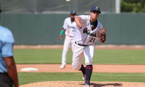 Andrew Cabezas helps pitch Cedar Rapids Kernels to victory, hopes…
