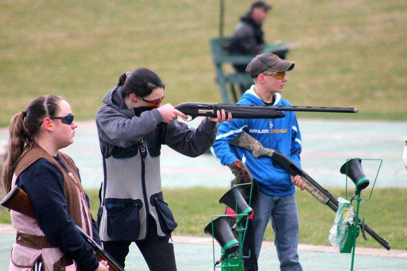 Trapshooting gaining steam with Dubuque Wahlert girls