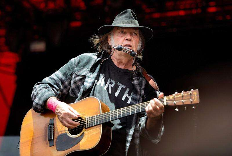 It's official: That $20 Neil Young concert in Marion was too good to be true