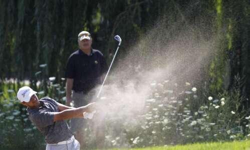 Triple bogey hurts Schaake at U.S. Open