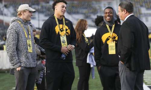 For Iowa football, retention is as important as recruiting in…