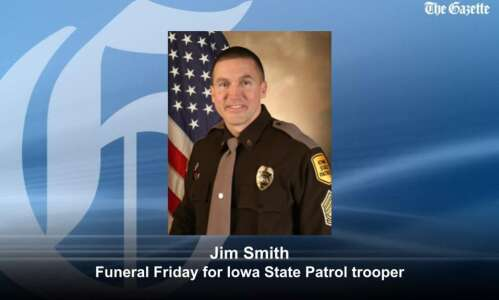 Public funeral in Independence planned Friday for slain Iowa trooper…