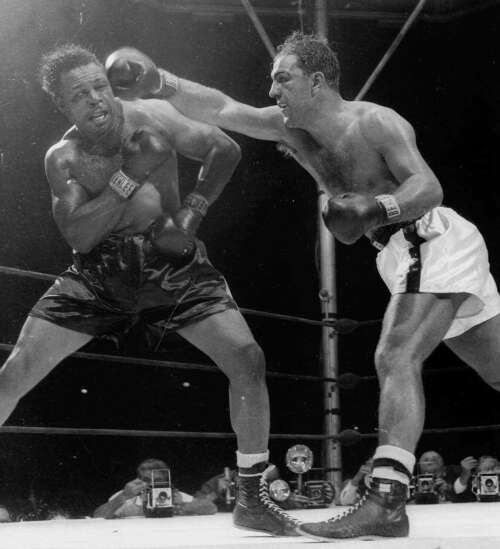 Time Machine: Iowa's connections to boxing superstar Rocky Marciano