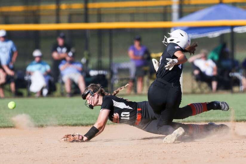 Photos: Iowa City Liberty vs. Cedar Rapids Prairie, Iowa high school softball