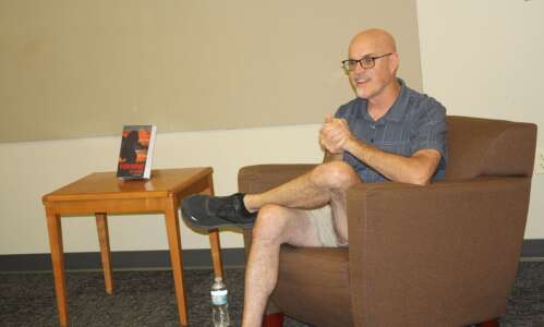 Washington County author promotes his first book
