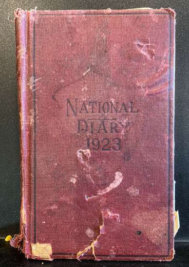 History Happenings: A young man's diary from 1923