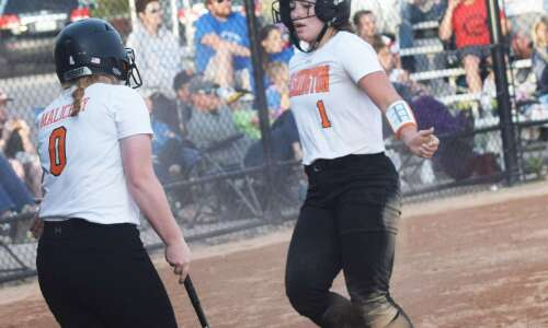 Dallmeyer leads Demons to 1st home softball win