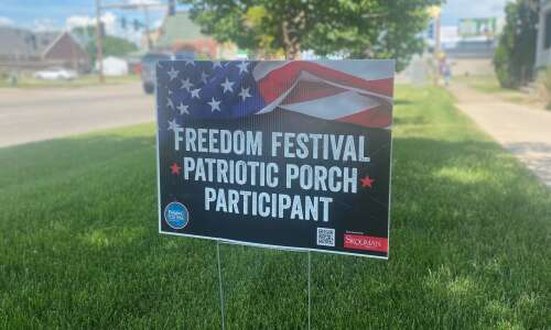 Is your porch the most patriotic? Show the Freedom Festival
