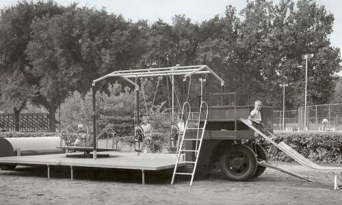 The Playmobile portable playground made kids happy the summer of…