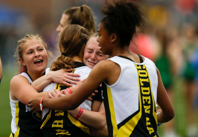 Iowa state track 2A girls' results: Mid-Prairie wins distance medley, builds on team lead