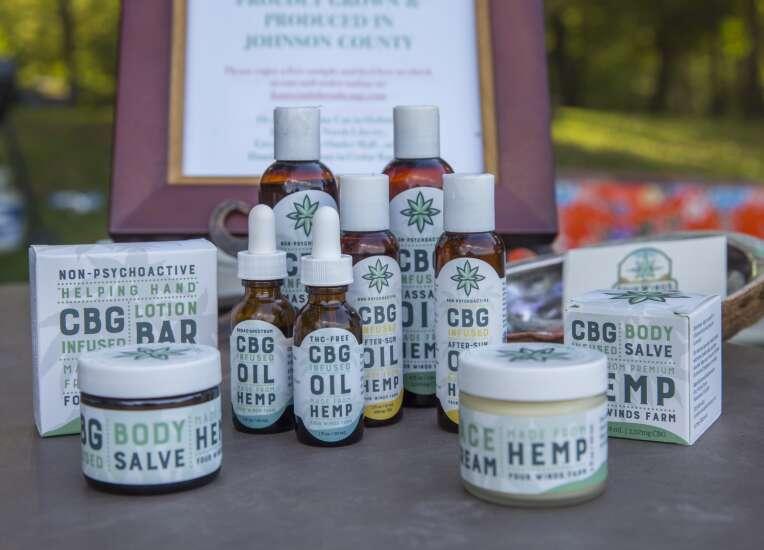 Iowa farm offers 'pick your own' hemp