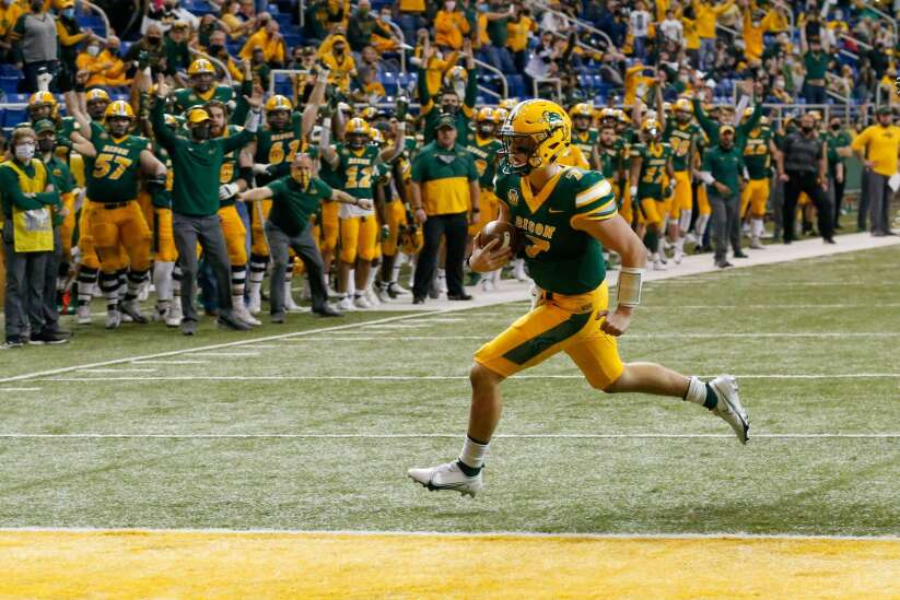 Cam Miller contributes for college football power No. 2 North Dakota State