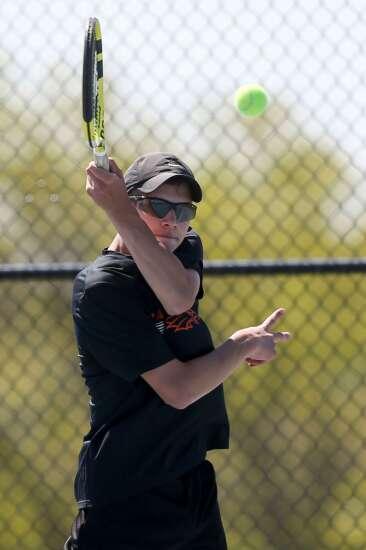 Photos: Boys' tennis district tournament at Cedar Rapids Prairie