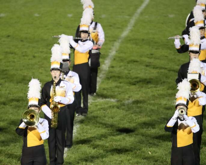 Marching band champions