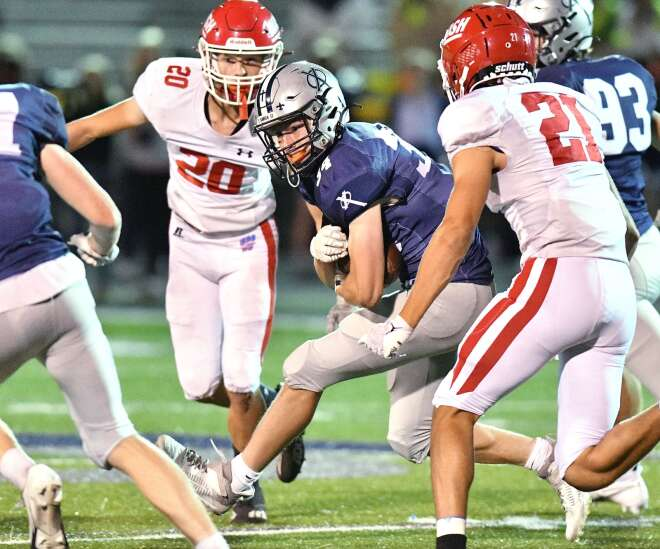 Photos: Cedar Rapids Washington vs. Cedar Rapids Xavier, Iowa high school football Week 5