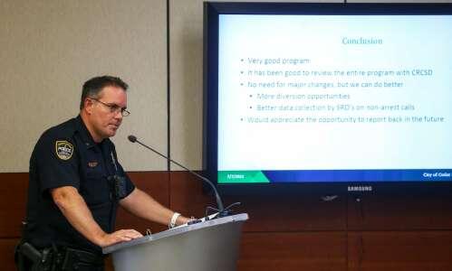 Cedar Rapids police chief says schools safer because of SROs