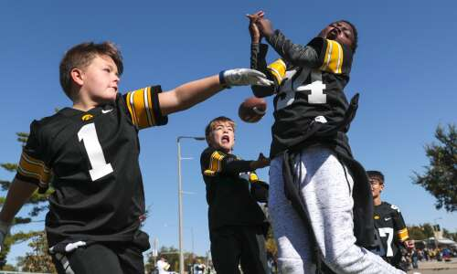 Photos: Iowa football vs. Purdue pregame
