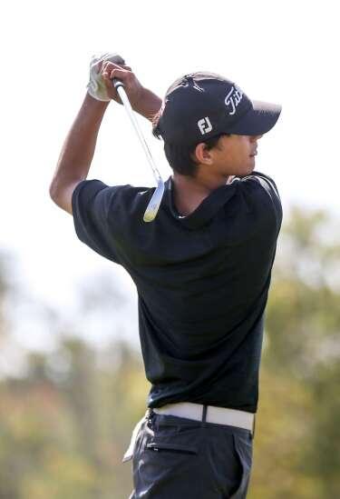 Photos: MVC Mississippi meet, Iowa high school boys' golf