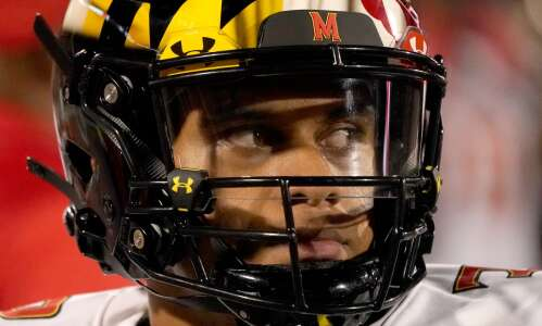 Hawkeyes face intriguing Friday Night Fight in Maryland