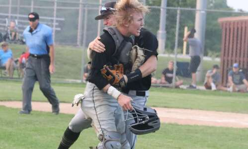 Union area baseball teams go 1-1 in game to go…