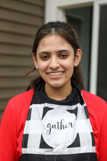 Young entrepreneur honors front-line workers