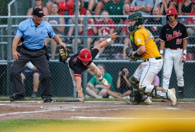 Iowa City High baseball rolls past rival West