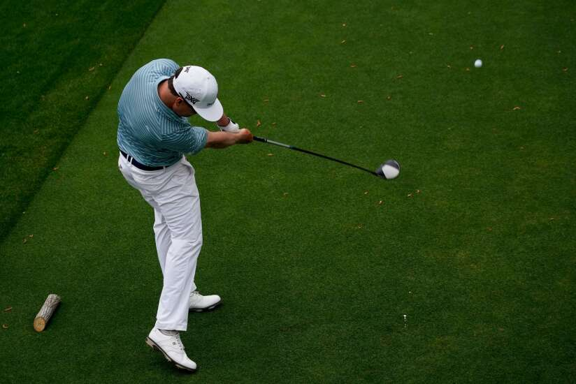 Zach Johnson 5-over at Masters