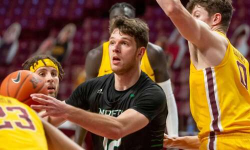 Proven scorer Filip Rebraca transferring to Iowa from North Dakota