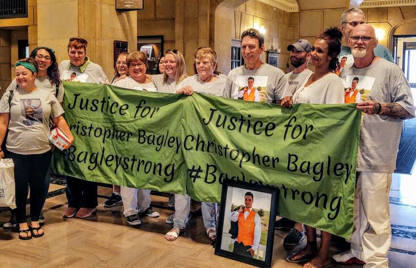 Chris Bagley's family relieved with guilty verdict for their son's killer