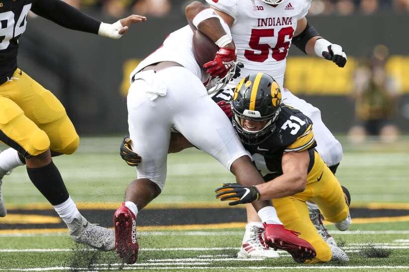 Photos: Iowa Hawkeyes vs. Indiana Hoosiers, Sept. 4, 2021