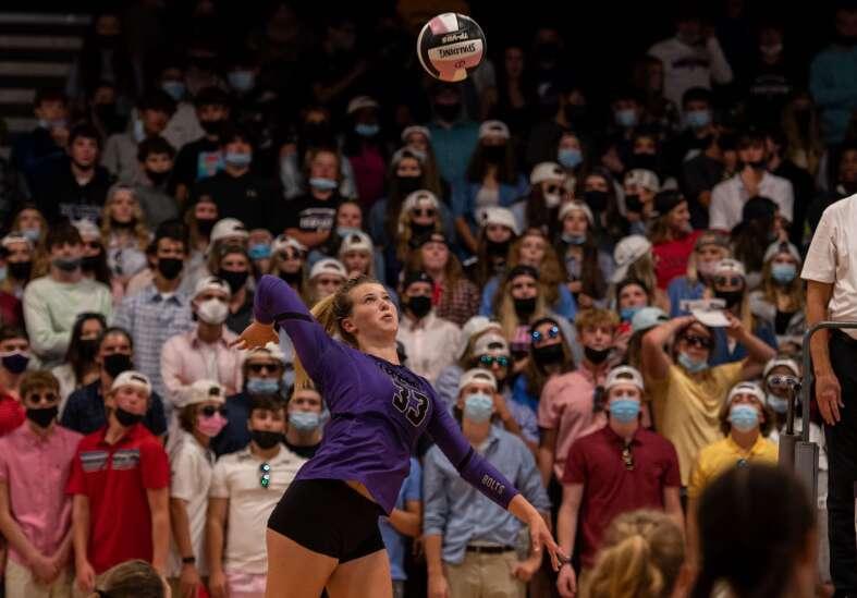 Iowa high school volleyball rankings: Gazette-area Super 10 (Sept. 22)