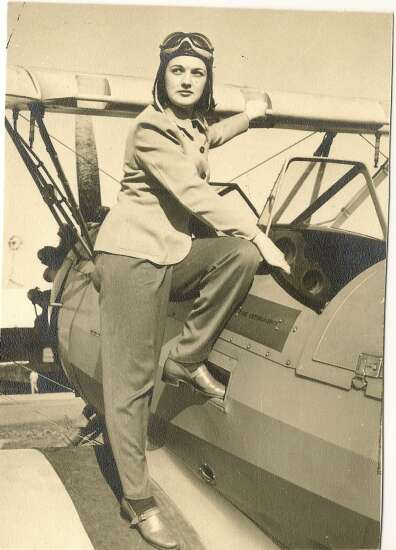 Piece of History: Nadine Kirkland was one of first female pilots in Eastern Iowa
