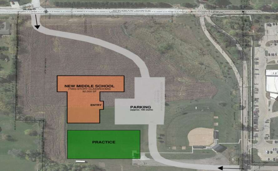 Sparse crowd hears two options for Washington Middle School