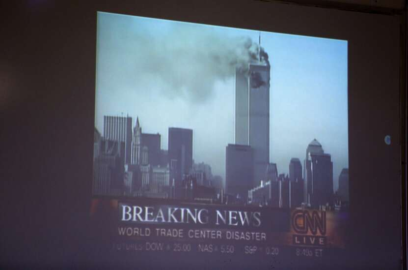 Explaining Sept. 11 to students who didn't live through it