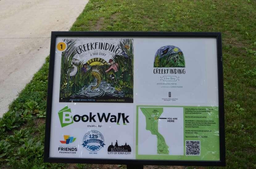 Iowa City's BookWalk takes reading on the go