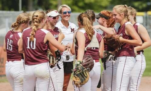 Photos: Mount Vernon vs. Estherville-Lincoln Central state softball quarterfinals