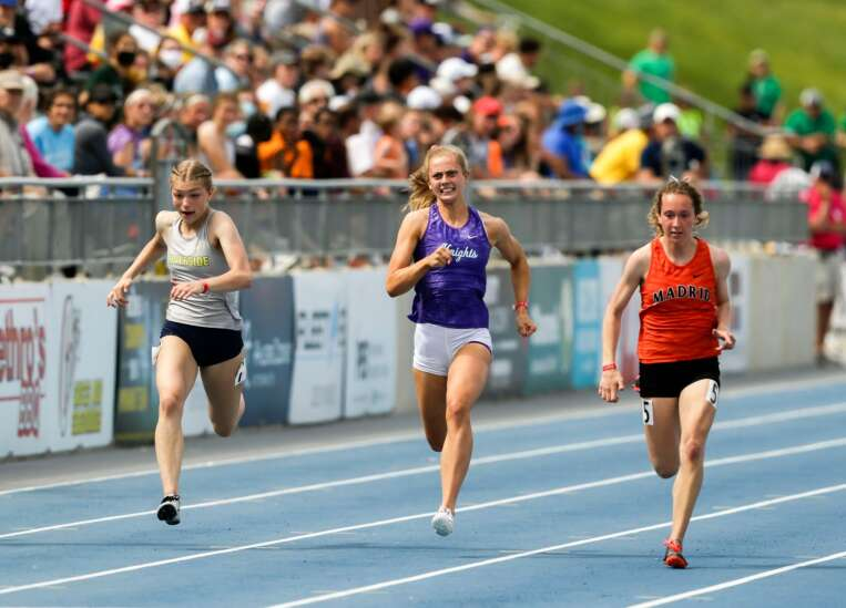 Iowa state track 1A results: Kelly Proesch makes North Cedar history