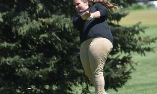 Mid-Prairie 7th at RVC girls golf meet